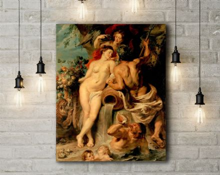 Peter Paul Rubens: Union of Earth and Water. Fine Art Canvas.